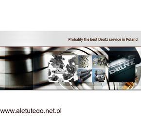 części deutz, hurtownia części deutz serwis silników deutz